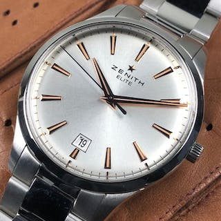 5fbb3e7a641 Zenith - Elite Captain Central Second Automatic... – Current sales –  Barnebys.