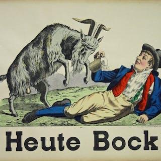 Anonymous - Weissembourg - Heute Bock Bier - 1890er Jahren