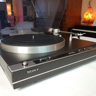 Sony PS-X50   Top Turntable   with new Ortofon OM10