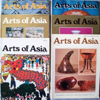 Magazine - Arts of Asia- 1971/1982