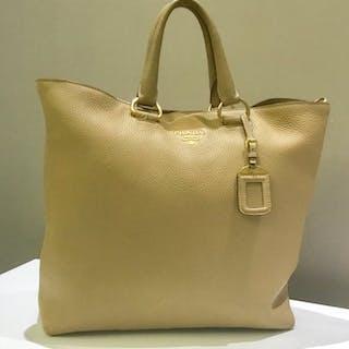 524504afa300 Prada - Galleria saffiano bicolor Tote bag Catawiki · Prada Shopper bag  Catawiki