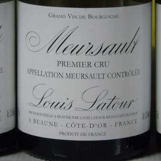 2007 Meursault 1er cru Louis Latour,- Bourgogne - 6 Bottle (0.75L)
