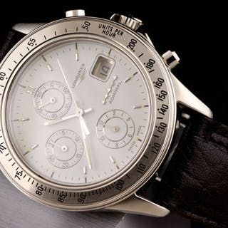 """Longines - Admiral Chronograph Automatic - """"NO RESERVE..."""