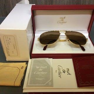 c4ea9c996a95 Short time left! Cartier - Tank Louis Sunglasses Catawiki