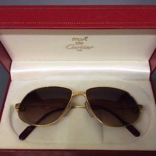 2b6e95a6b053 Cartier - CT0053S-001 Sunglasses Catawiki · Short ...