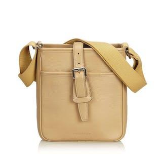 ce588937611 Burberry - Leather Crossbody Bag – Current sales – Barnebys.co.uk