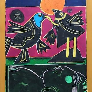 Corneille- Les oiseaux Amoureux 1