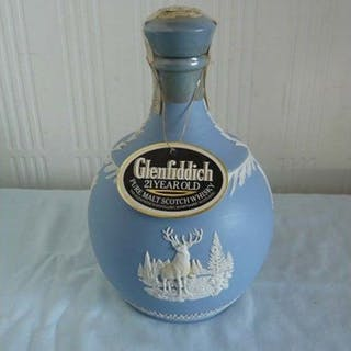 Glenfiddich 21 years old Wedgewood - b. 1980s - 700ml