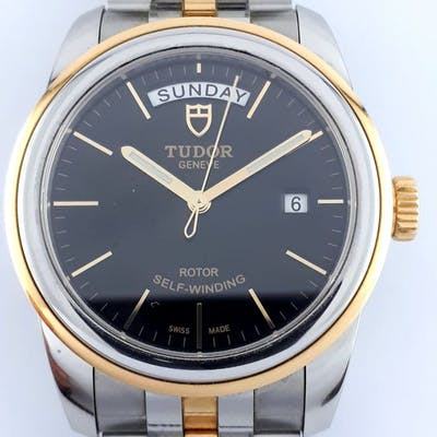 Tudor - Glamour Day-Date Gold /Steel- Men - 2011-present