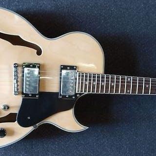 ChS - ES-175-model hollowbody - transparant naturel - Electric guitar