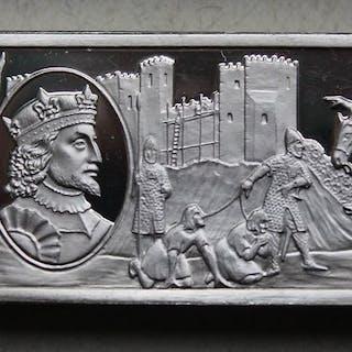 Großbritannien -Motivbarren - Stephen (König von England 1135-1154) - ca