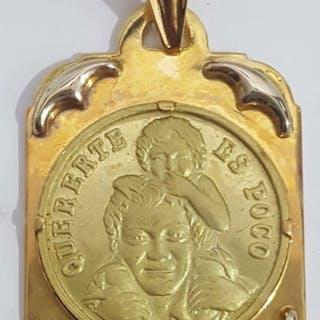 18 quilates Oro amarillo - Colgante