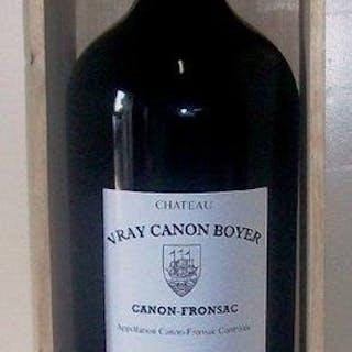 2004 Château Vray Canon Boyer Canon-Fronsac - Bordeaux - 1 Balthazar (12 L)