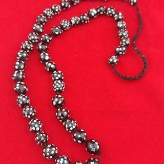 String of beads (1) - Glass beads - Venetian - Italy