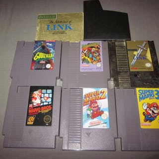 12 nintendo nes games like paperboy super mario bros and more closed auction publicscrutiny Gallery