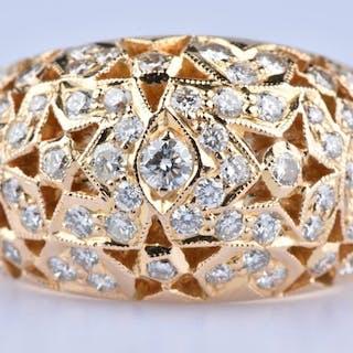 18 kt. Gold - Ring Diamond