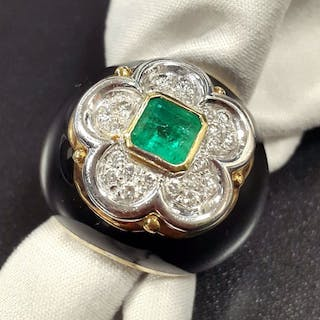 Other - 18 kt. Other - Ring Emerald