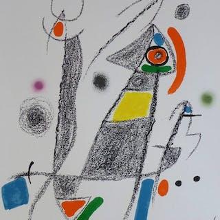 Joan Miró - Maravillas con Variaciones Acrósticas 6