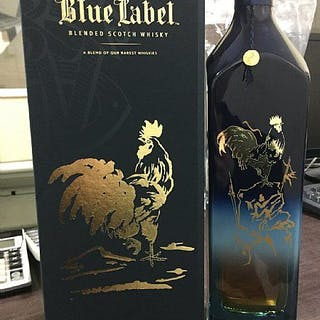 Johnnie Walker Blue Label Year of the Rooster - 750ml