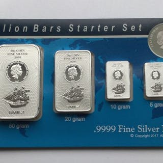 85 Gramm - Silber .999 - SMI USA - Seal + Zertifikat