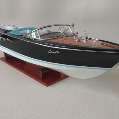 Riva Aquarama - Black body - 67cm - Wood - Second half 20th