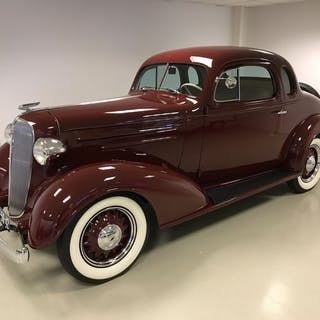 Chevrolet - Business Coupe - 1936