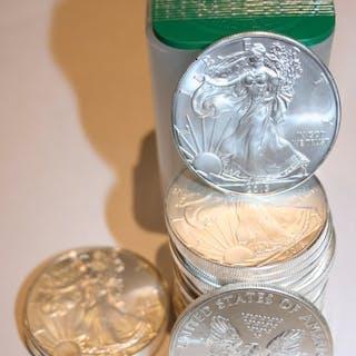 United States - 1 Dollar 2013 American Eagle - 20x 1 oz in rol- Silver