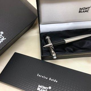 Montblanc - Meisterstück Solitaire Edelstahl Roller Pen