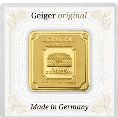 10 Gramm - Gold .999 (24 Karat) - Geiger Edelmetalle...