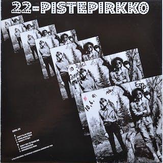 Piste Pirkko  - Dédicacé LP plus dédicacé affiche promotionnelle - 1991/1991