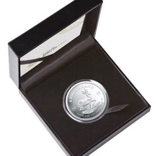 Südafrika - 1 Krugerrand 2018 - Polierte Platte Limited Edition - 1 oz - Silber