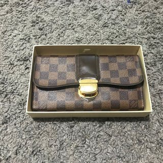 Louis Vuitton Damier Portefeuille Sistina Wallet – Current sales –  Barnebys.com 1508254855f