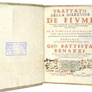 Famiano Michelini - Trattato della Direzione de' Fiumi - 1700