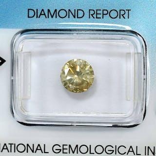 Diamant - 1.53 ct - Brillant - SI2