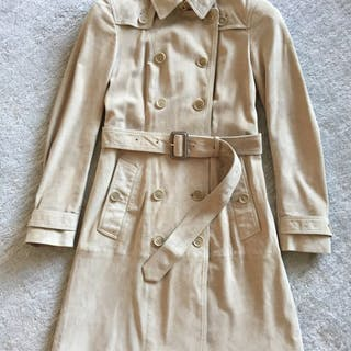 696edcee1643 Burberry - Cloak, Leather jacket, Trench coat – Current sales ...
