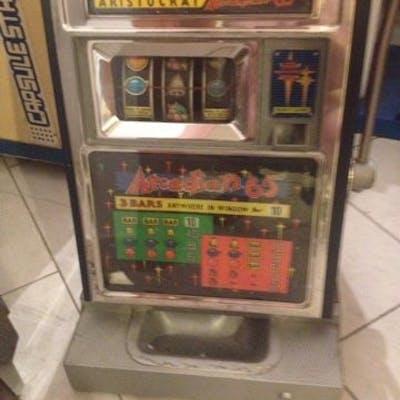 Vintage aristocrat arcadian slot machine