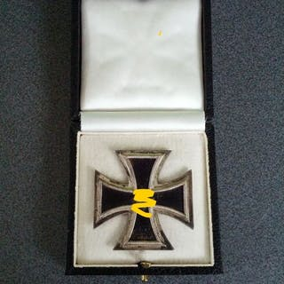 e826a7ac4ba0 Germany Iron Cross 1st Class - EK1 - Silvered version - in box ...