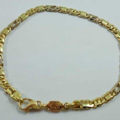 18 carati Oro bianco, Oro giallo - Bracciale