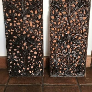 Wood carvings - Oak - 17th century