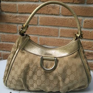 77c6905c637 Gucci - Monogram D Hobo Handbag