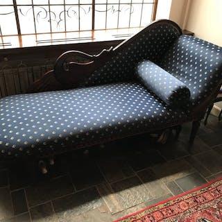 Chaise longue - Wood, Mahogany – Current sales – Barnebys.com on sleep lounge sofa, modern chaise sofa, low-back sofa, bedroom sofa, fainting sofa, benches high back sofa, bed sofa, newton chaise sofa, conventional sofa, daybed sofa, double chaise sofa, curved sofa, sleeper sofa, ikea dark grey sofa, floor lounger sofa, modular lounge sofa, furniture sofa, small blue sofa, ottoman sofa, sectional sofa,