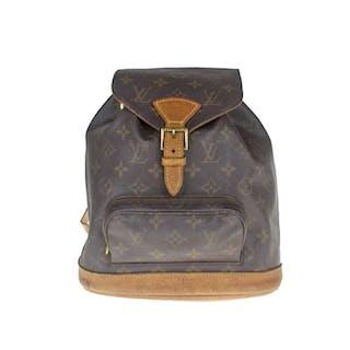 77f3778adf32 Louis Vuitton - Monogram Montsouris MM Backpack – Current sales –  Barnebys.com