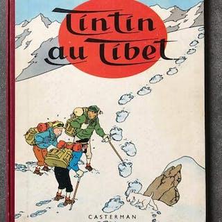 Tintin T20 - Tintin au Tibet (B29 française) - C - Erstausgabe - (1960)
