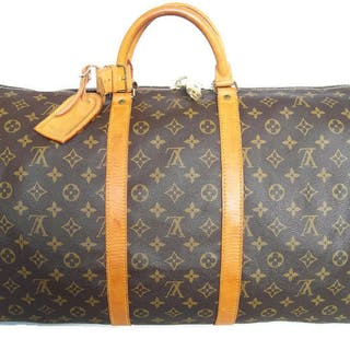 Louis Vuitton - Keepall 55 Luggage bag + LV Accessories -  No Reserve  Price!  b53270c64ab