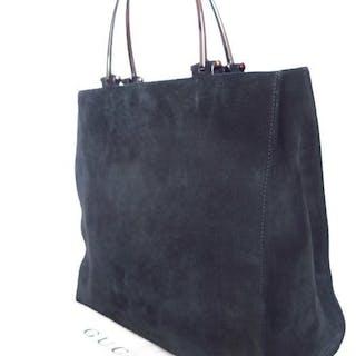 aef2580717b0ea Gucci Suede Handbag/Shouldersbag – Current sales – Barnebys.com