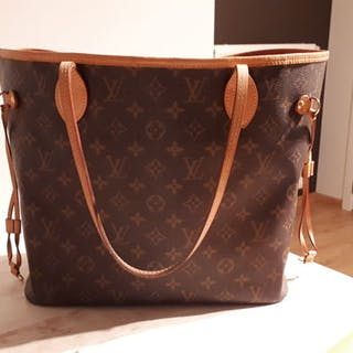 0074c376285be Louis Vuitton - Neverfull MM Handbag – Current sales – Barnebys.com