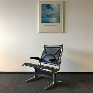 Charles Eames, Ray Eames - Herman Miller - Armchair, Eames tandem sling