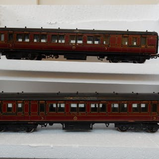 Bonds 0 - Passenger carriage - 'Crimson corridor', time period II - LMS
