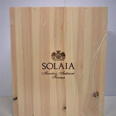 2015 Marchese Antinori Solaia - Toscana IGT - 3 Bottles (0.75L)