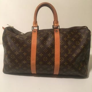 Louis Vuitton - Keepall 45 Travel bag – Current sales – Barnebys.co.uk 69586b25198b5